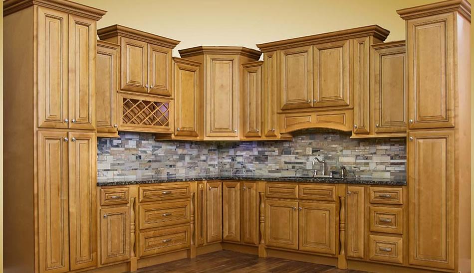 Walnut Ridge Cabinetry Savannah Harvest Glaze Kitchen ...