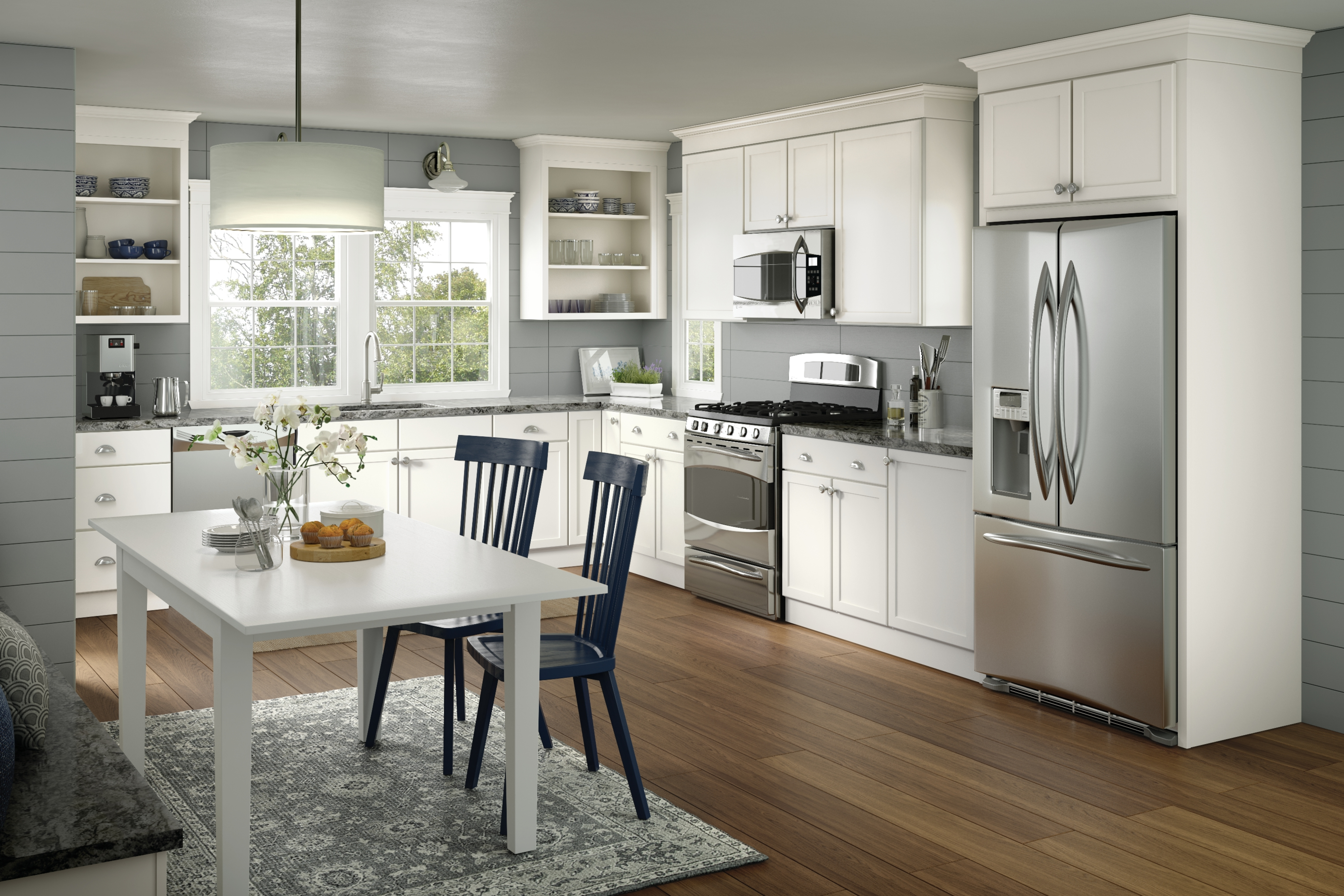Quality Cabinets™ Offers Several Depths Of Wall, Base And Vanity Cabinets U2013  All In A Wide Variety Of Sizes, Wood Species, Door Styles And Color  Combinations ...